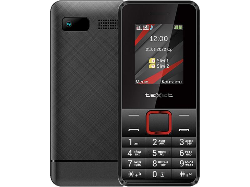 Сотовый телефон teXet TM-207 сотовый телефон texet tm b209 black