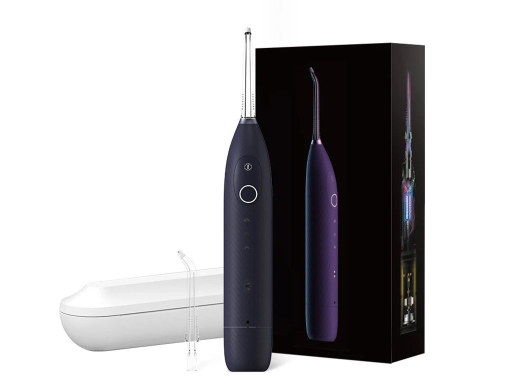 Ирригатор Xiaomi Oclean W1 Smart Oral Irrigator Dark Purple (2 насадки+футляр)