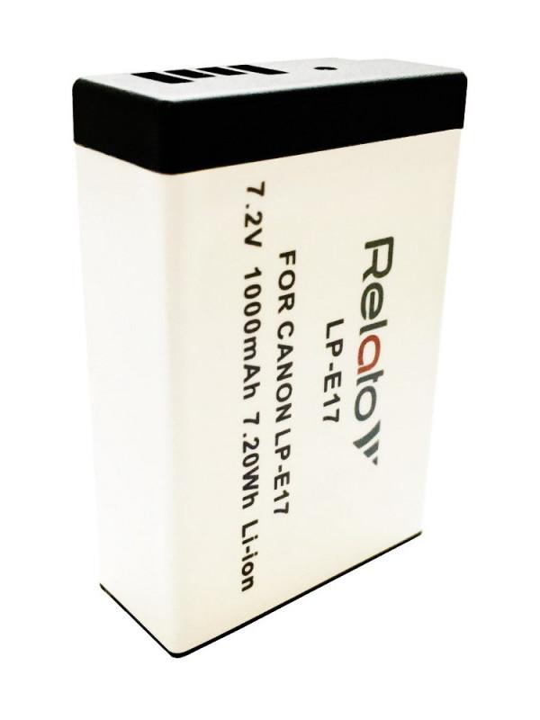 Аккумулятор Relato LP-E17 для Canon EOS 200D/ 250D/ 750D/ 760D/ 800D/ M3/ M6 MarkII/ RP NEW