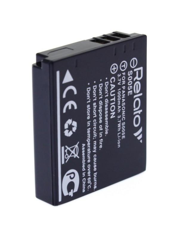 Фото - Аккумулятор Relato S005E для Panasonic FX01/ FX07/ FX1/ FX3/ FX50/ FX8/ FX9/ FX10/ FX100/ FX12/ FX150/ LX1/ LX2/ LX3/ FujiFilm FinePix F20 Zoom/ F40 fd/ F47 fd/ Ricoh Ricoh Caplio R3/R30/ R4/ R5 Ricoh G600/ G700/ GR/ GRD/ GRD II/ GRD III/ GRD IV/ GX100 аккумулятор relato slb 1137 для samsung u ca 4 401 501 505 v700 v800 fuji f 401 410 50i 601 m60 m603 m608 pentax optio 330 430 casio qv r3 r4 hp photosmart r507 r707 r727 r927 r967 kodak d