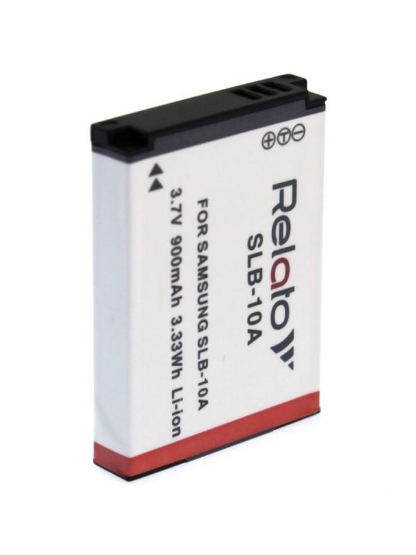 Фото - Аккумулятор Relato SLB-10A для Samsung ES55/ ES60/ HX10W/ HZ15W/ IT100/ L100/ L110/ L210/ L310W/ M100/ M110/ NV100HD/ NV9/ PL50/ PL51/ PL55/ PL60/ PL65/ PL70/ SL102/ SL202/ SL310/ SL620/ SL720/ SL820/ TL9/ WB500/ WB550/ WB700 аккумулятор relato slb 1137 для samsung u ca 4 401 501 505 v700 v800 fuji f 401 410 50i 601 m60 m603 m608 pentax optio 330 430 casio qv r3 r4 hp photosmart r507 r707 r727 r927 r967 kodak d