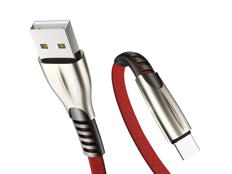 Фото - Аксессуар Exployd Sonder USB - USB Type-C 1m Red EX-K-838 usb кабель exployd ex k 820 8 pin sonder 2 1a 1м красный