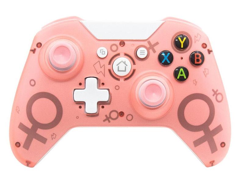 Геймпад Dobe Wireless Controller DB-N1 Pink для PS3/PC/Xbox One