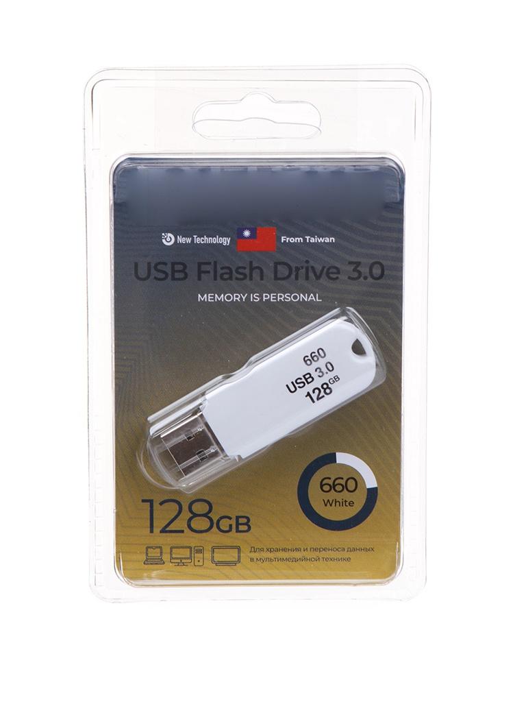 Фото - USB Flash Drive 128Gb - Exployd 660 3.0 EX-128GB-660-White usb flash drive 256gb exployd 590 3 0 ex 256gb 590 black