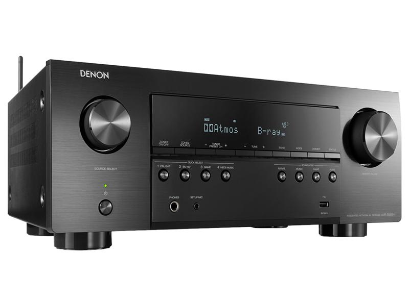 Ресивер Denon AVR-S960H Black