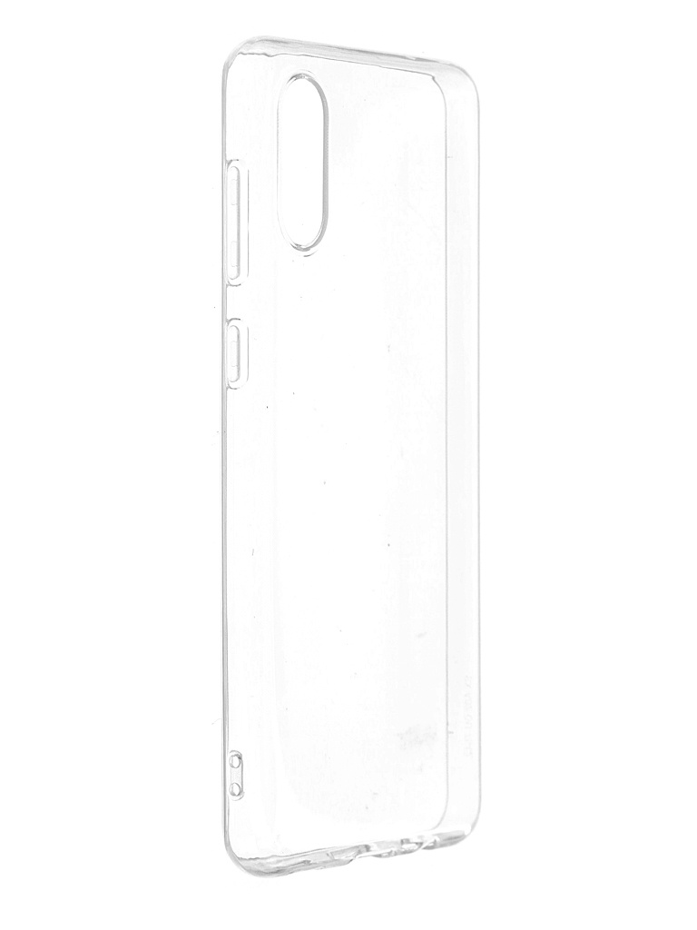 Чехол DF для Samsung Galaxy A02 Silicone Super Slim sCase-118