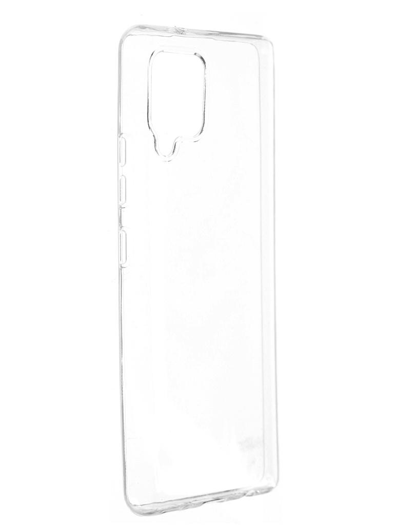 Чехол DF для Samsung Galaxy A42 Silicone Super Slim sCase-121
