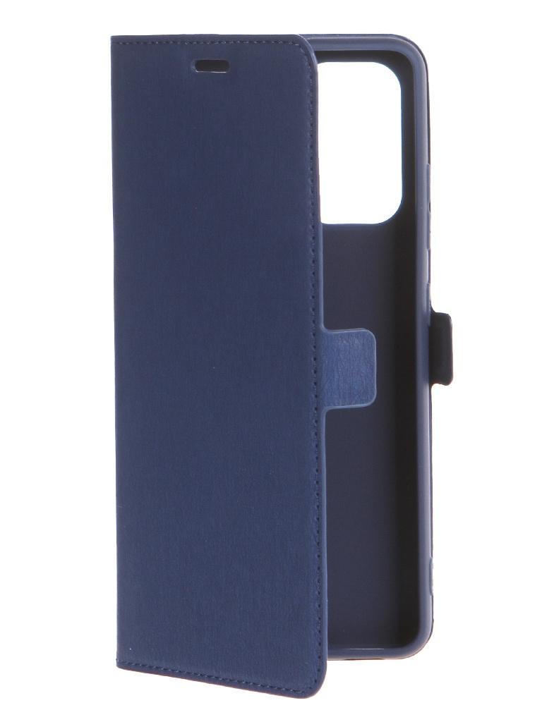 Чехол DF для Samsung Galaxy A32 (4G) Blue sFlip-83