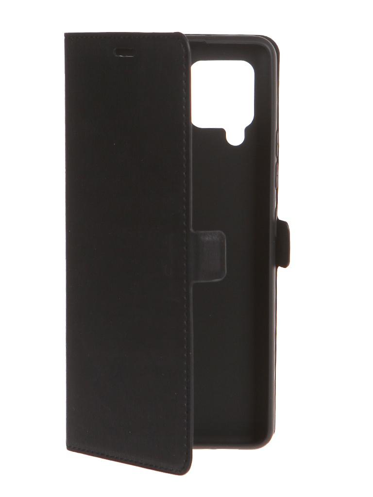 Чехол DF для Samsung Galaxy A42 Black sFlip-88