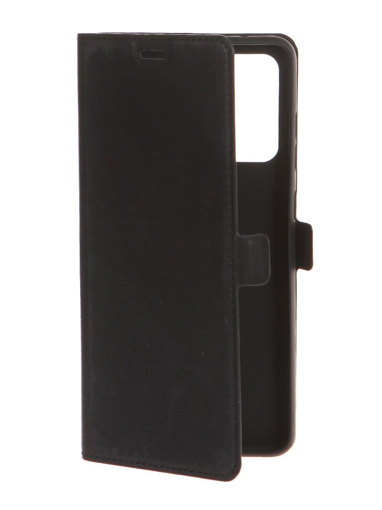 Чехол DF для Samsung Galaxy A72 (4G/5G) Black sFlip-86