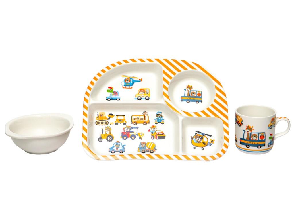 Набор детской посуды Lavenir Транспорт 192-47086