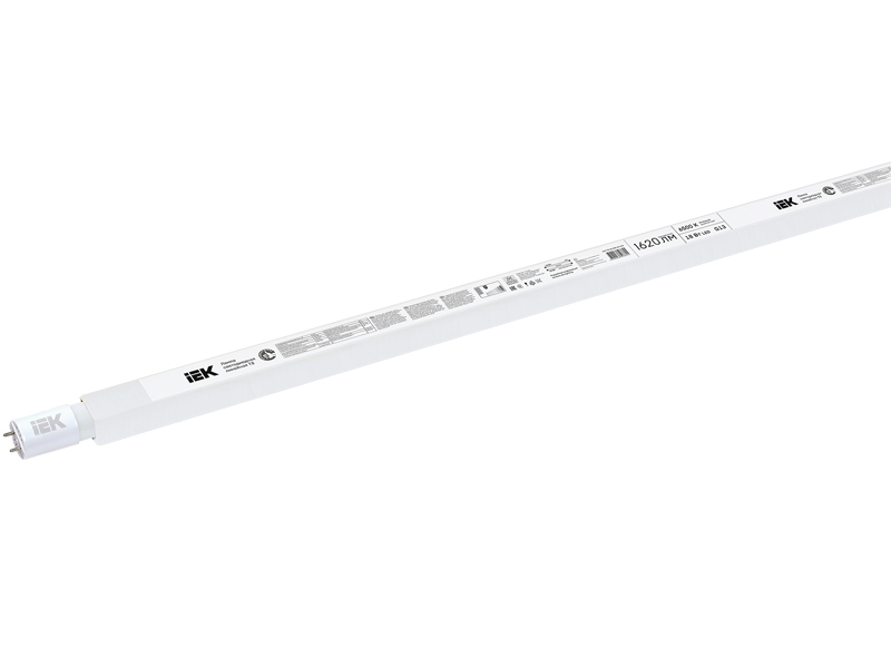 Лампочка IEK LED T8 G13 18W 230V 6500K LLE-T8-18-230-65-G13