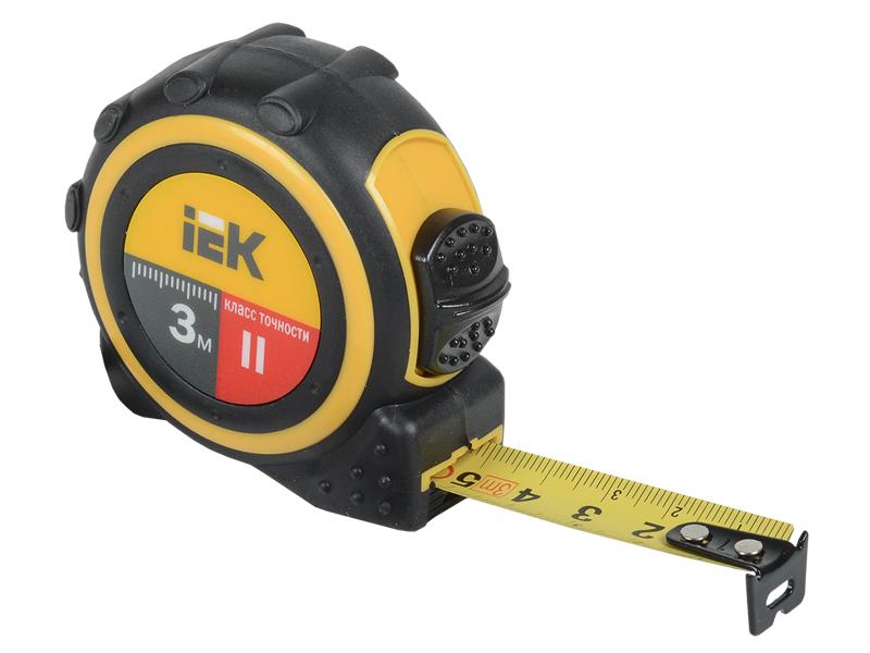 Рулетка IEK Universal 3m TIR10-1-003