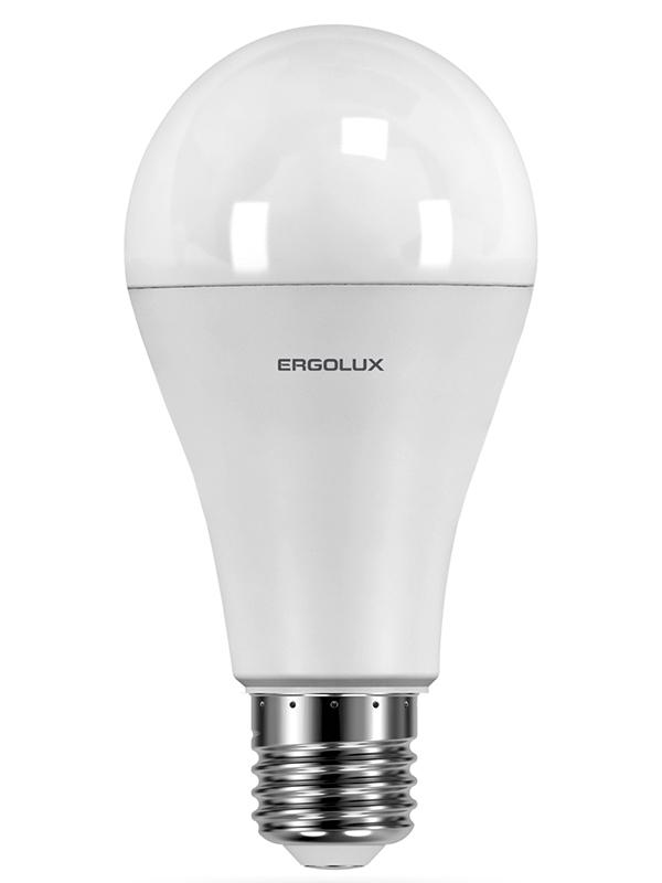 Лампочка Ergolux E27 25W 220V 4500K 2400Lm LED-A65-25W-E27-4K 14236