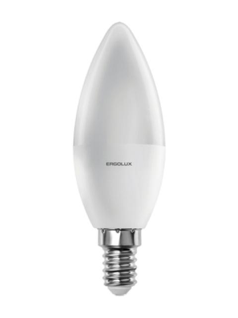 Лампочка Ergolux E14 11W 220V 3000K 1045Lm LED-C35-11W-E14-3K 13618
