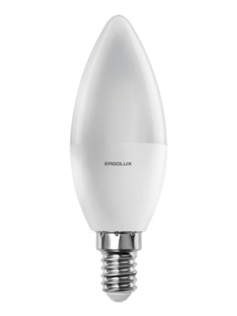 Лампочка Ergolux E14 11W 220V 6500K 1070Lm LED-C35-11W-E14-6K 13620