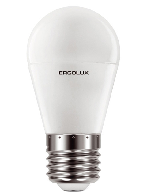 Лампочка Ergolux E27 11W 220V 3000K 1045Lm LED-G45-11W-E27-3K 13630