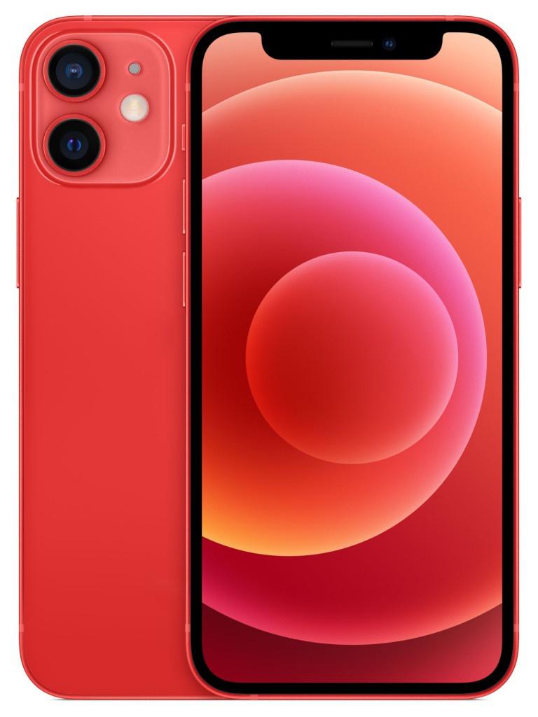 Сотовый телефон APPLE iPhone 12 Mini 128Gb Red MGE53RU/A Выгодный набор для Selfie + серт. 200Р!!!