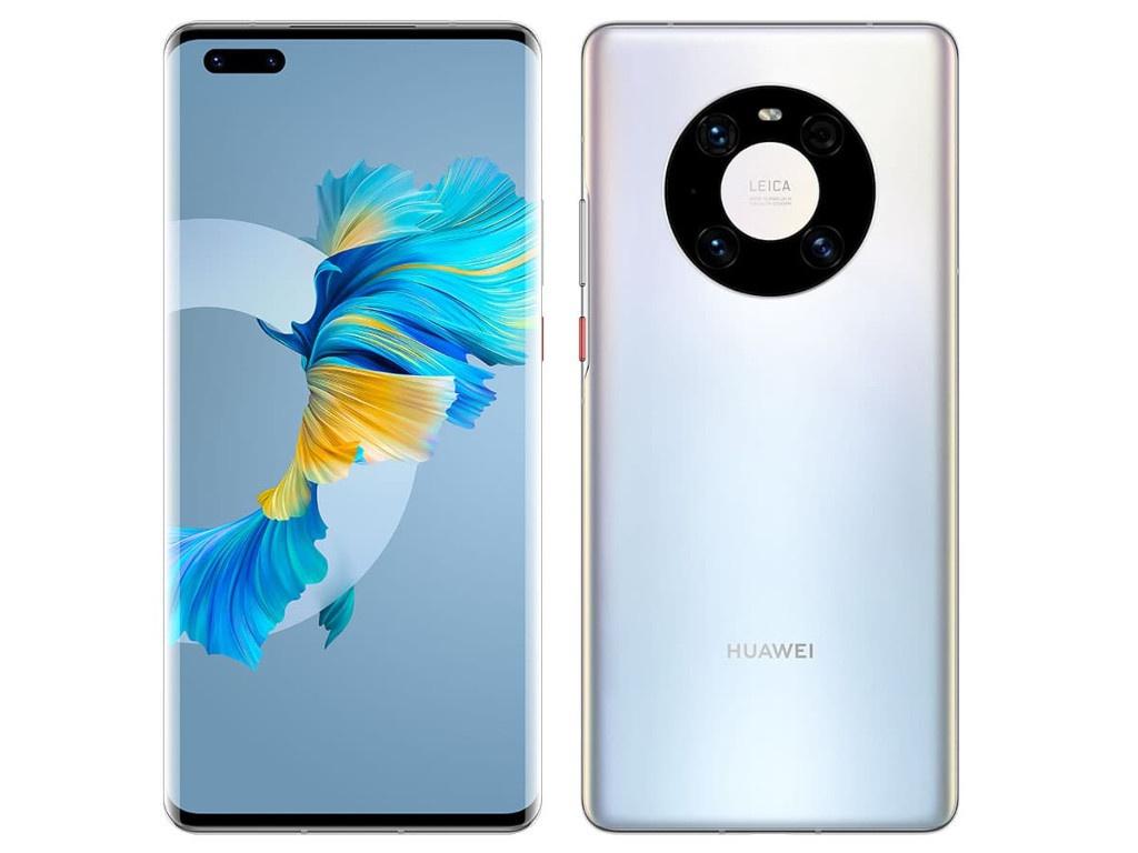 Сотовый телефон Huawei Mate 40 Pro 8/256GB Mystic Silver Выгодный набор + серт. 200Р!!!