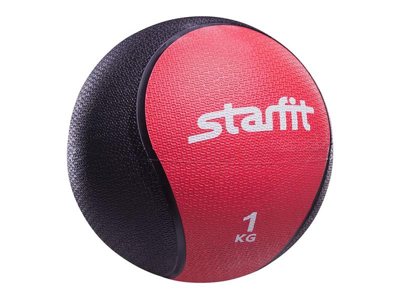 Медбол Starfit Pro GB-702 18.8cm Red-Black УТ-00007297