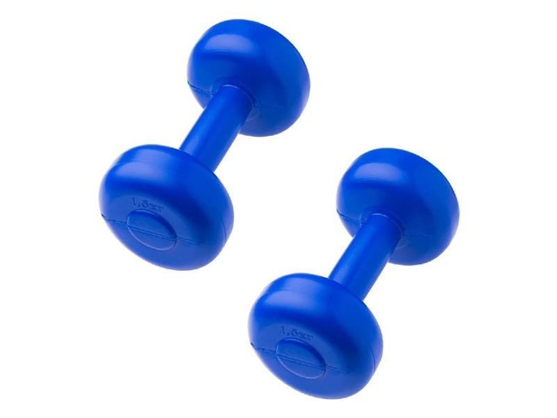 Набор гантелей Starfit 2kg 2шт Blue УТ-00000363