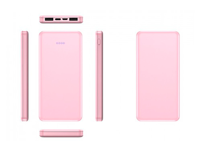 Внешний аккумулятор KS-is Power Bank KS-370 20000mAh Pink