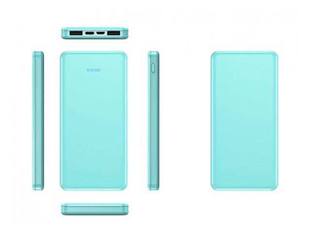 Внешний аккумулятор KS-is Power Bank KS-370 20000mAh Green