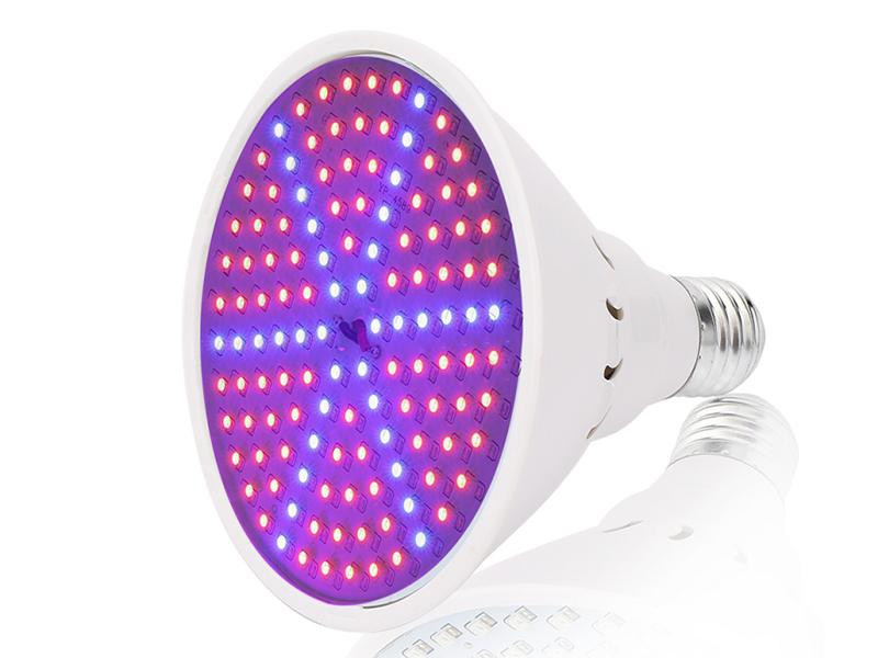 Светодиодная фитолампа URM 126 LED E27 15W 220V IP42 URM-FITO-P27-126 F10020