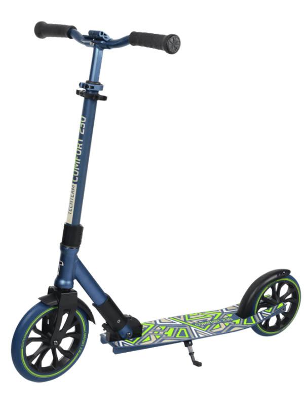 Самокат Tech Team 230R Comfort 2021 Blue-Green недорого