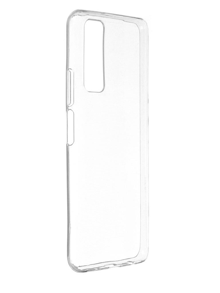 Чехол Zibelino для Huawei P Smart 2021 Ultra Thin Case Transparent ZUTC-HUA-P-SMT-2021-WHT