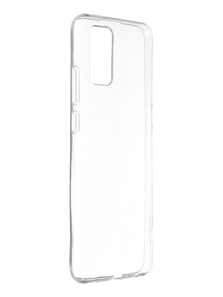 Чехол Zibelino для Samsung A02s Ultra Thin Case Transparent ZUTC-SAM-A025F-WHT
