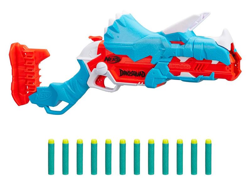 Игрушка Hasbro Nerf Дино Трицерабласт F0803EU4