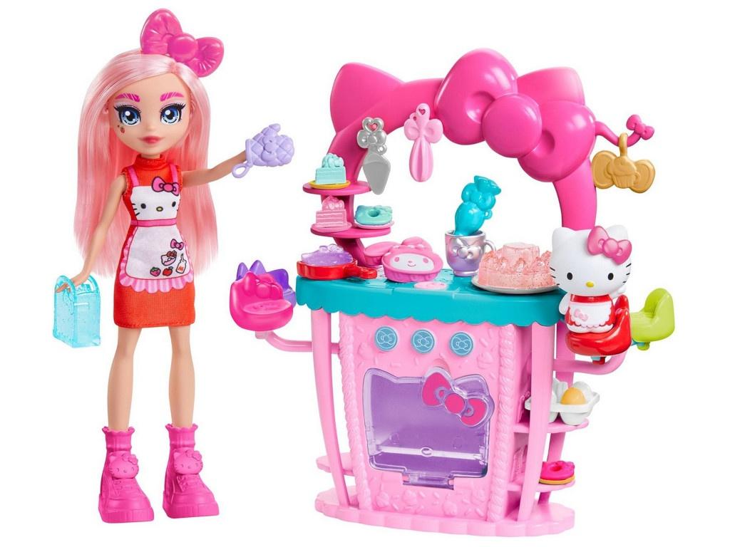 Кукла Mattel Hello Kitty Восхитительная кухня GWX05