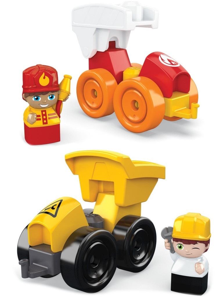 Конструктор Mattel Маленькие грузовички GWP98