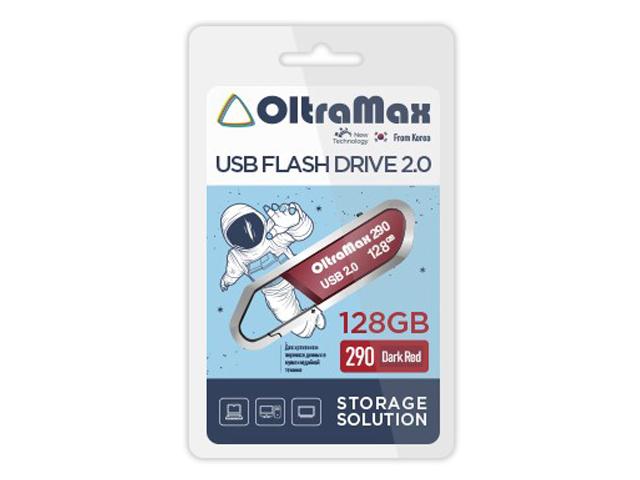 Фото - USB Flash Drive 128Gb - OltraMax 290 2.0 OM-128GB-290-Dark Red gary warner the light from winter dark