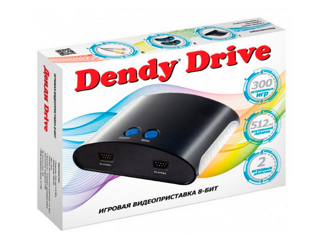Фото - Игровая приставка Dendy Drive 300 игр игровая приставка dendy dream 300 игр