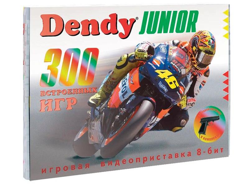 Фото - Игровая приставка Dendy Junior 300 игр + световой пистолет игровая приставка dendy dream 300 игр