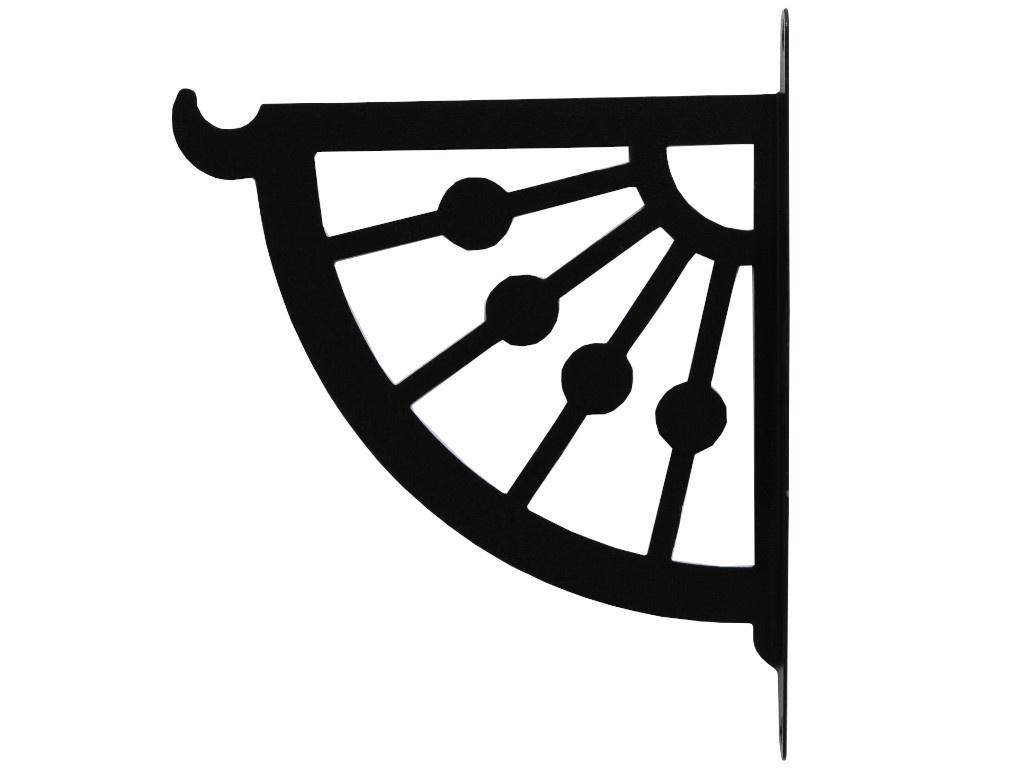 Кронштейн для кашпо Greengo Веер 25cm 4849368