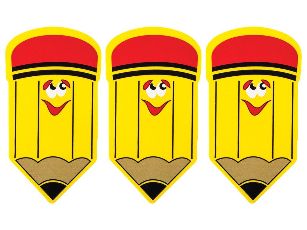 Фото - Стиратели магнитные для магнитно-маркерной доски Юнландия Карандаш 55х100mm 3шт 237508 карандаш