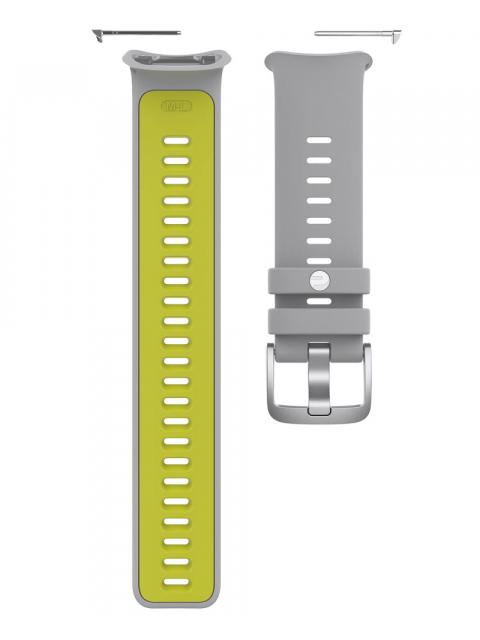 Аксессуар Ремешок для Polar Wrist Band Vantage V2 S-L Grey-Lime 91083655