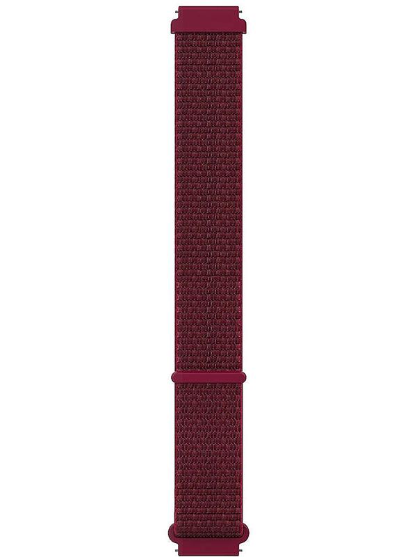 Аксессуар Ремешок для Polar Wrist Band 20mm Hook&Loop S-M Red 91081808