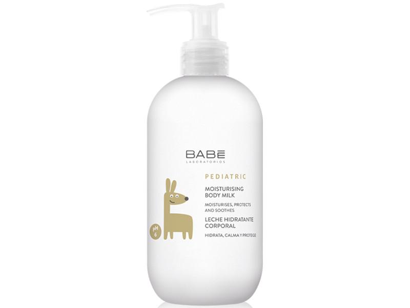Молочко для тела Babe Laboratorios увлажняющее детское 500ml 8740449