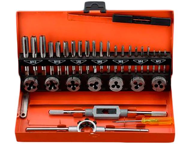 Набор метчиков и плашек Harden Professional 32 предмета 610453