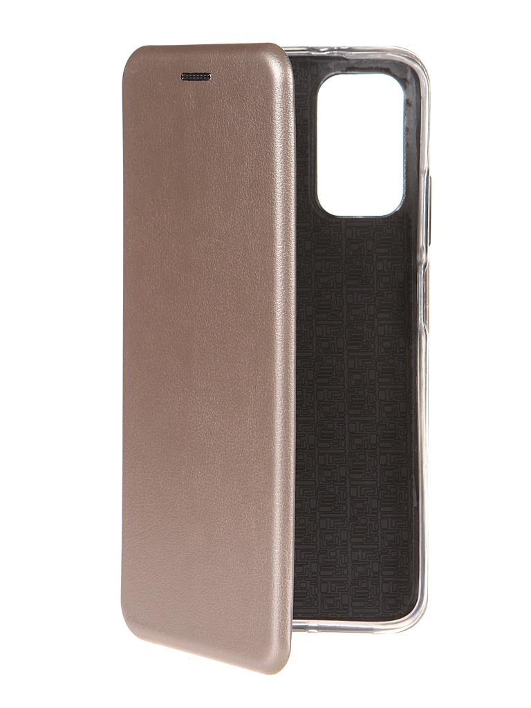 Чехол Zibelino для Xiaomi Poco M3 Book Gold ZB-XIA-M3-GLD