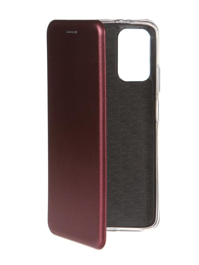 Чехол Zibelino для Xiaomi Poco M3 Book Burgundy ZB-XIA-M3-BRD