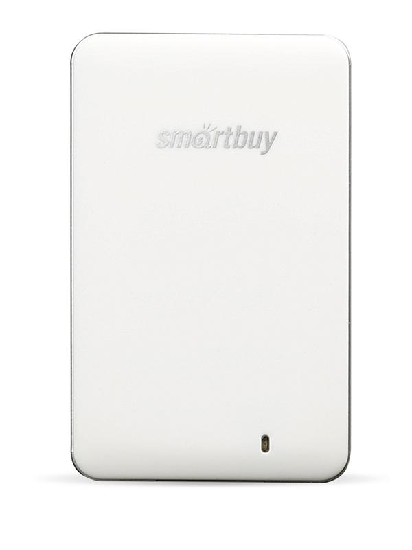 Фото - Твердотельный накопитель SmartBuy External S3 Drive 512Gb White SB512GB-S3DW-18SU30 твердотельный накопитель smartbuy external s3 drive 512gb black silver sb512gb s3bs 18su30