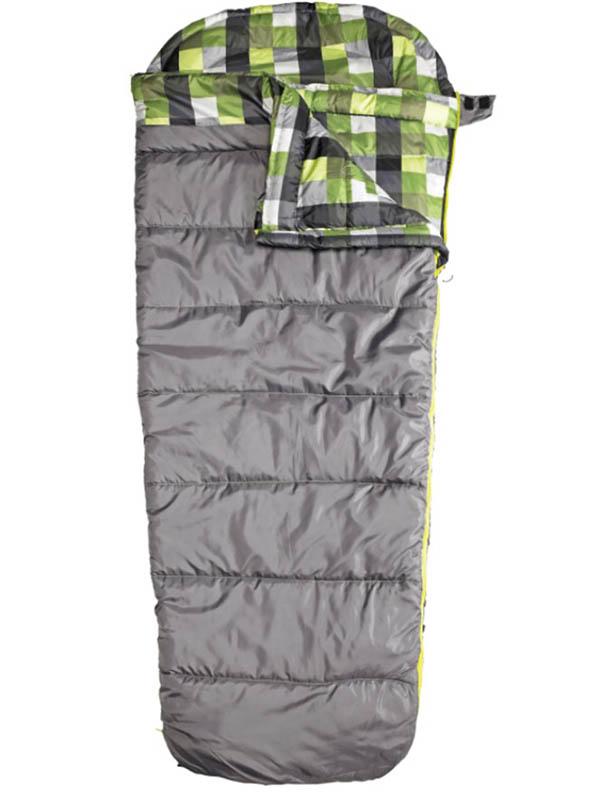 Cпальный мешок Ace Camp Mesa Hybrid правый Grey-Green 3971