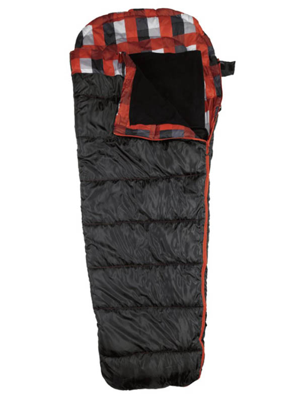 Cпальный мешок Ace Camp Mesa Hybrid правый Black-Red 3973