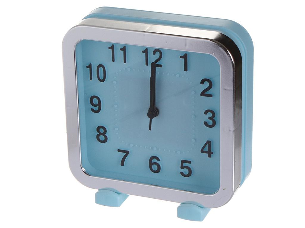 Часы Perfeo Quartz PF-TC-018 Blue PF_C3161 фонарь perfeo pf a4420