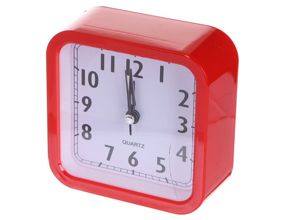 Часы Perfeo Quartz PF-TC-019 Red PF_C3168